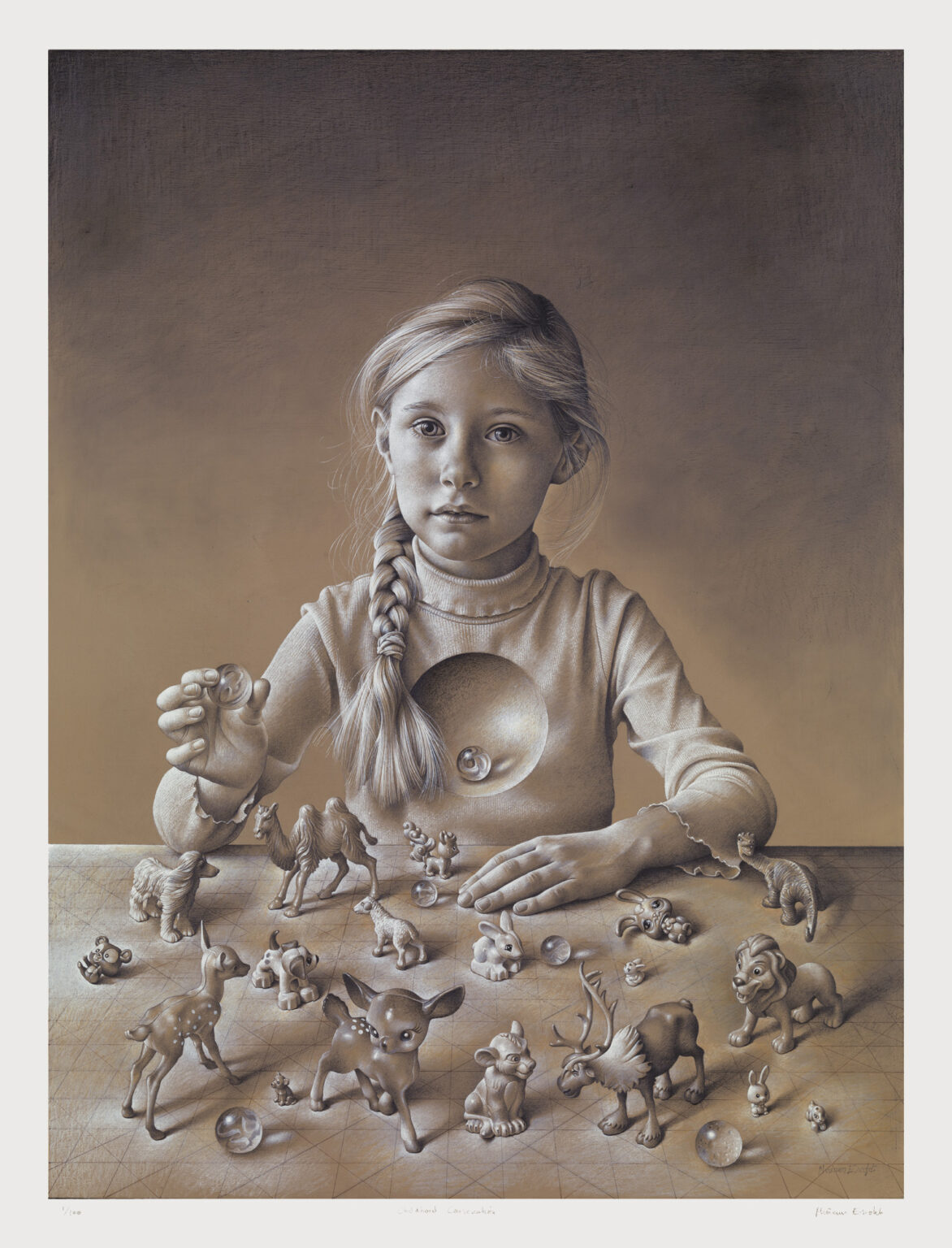 Childhood-Consecration-signed-limited-edition-print-Miriam-Escofet