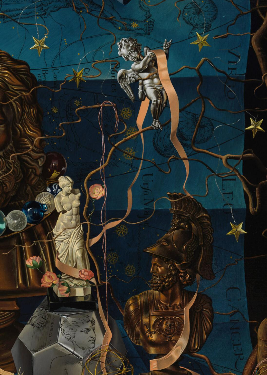 THE-HEAVENS-giclee-print-detail 10-Miriam-Escofet