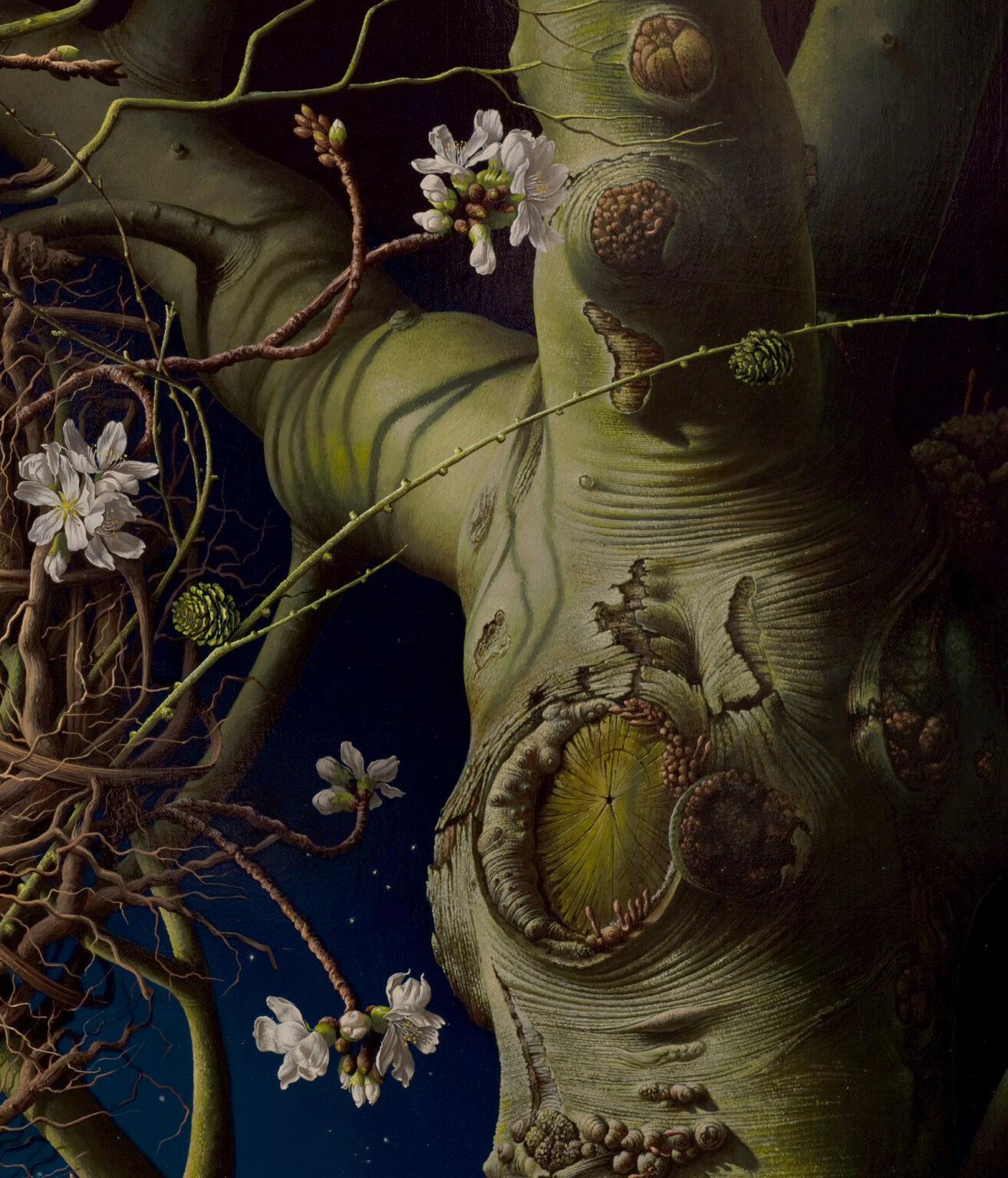 THE-WITCHING-HOUR--giclee-print-detail 2-Miriam-Escofet